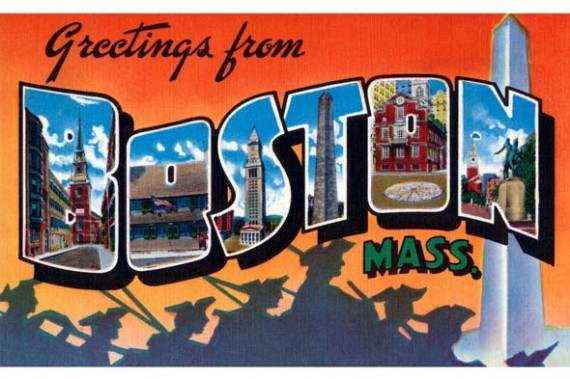 Boston post card