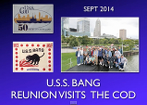 2014 visit to USS Cod