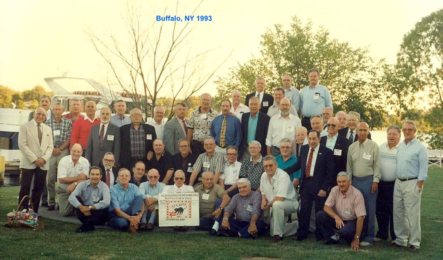 USS Bang 1993 reunion in Buffalo, NY